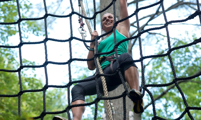 Adirondack Extreme - Adirondack Extreme Adventure Course: $40 for an Extreme Adult Course Package at Adirondack Extreme ($50 Value)