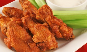 Up to 45% Off Lunch or Dinner at Golden Flame Hot Wings at Golden Flame Hot Wings, plus 6.0% Cash Back from Ebates.