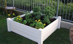 NuVue 4'x4' Raised Garden Bed
