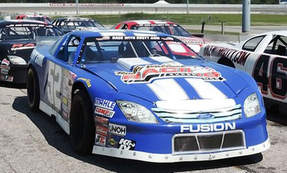 image for Short Track Racing Experience from Rusty Wallace Racing Experience (Up to 72% Off). Four Options Available.