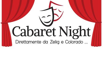 Cabaret con Zelig e Colorado a Genova