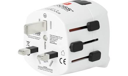 Skross PRO Light World Travel Adapter for £17.99 (49% Off)