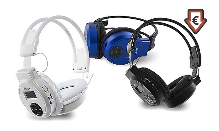 Casque avec lecteur MP3 intgr et coloris au choix dès 995€ (jusquà 83% de rduction)