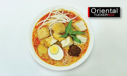 $9 for Choice of Laksa and Soft Drink at Oriental Tuckerbox Up to $15.40 Value