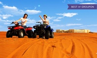 Abu Dhabi: 1- or 2-Night Break for Two with Breakfast and Quad Driving at 4* Tilal Liwa Hotel