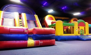Jumping Jacks Fun Zone: Party Room Rental with Decor, Cleanup and Setup at Jumping Jacks Fun Zone (Up to 54% Off)