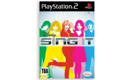 Sony Disney Sing It for PS2