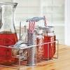 10-Piece Mason Jar Beverage Set with Carafe and Caddy