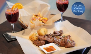 Inca's Restaurant Cafe And Bar: Peruvian Piqueos with Sangria or Wine for Two ($25) or Four ($49) at Inca's Restaurant Cafe and Bar (Up to $96 Value)