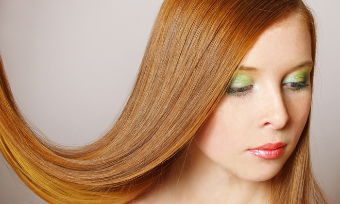 Simply Natural Beauty Salon - Lindenhurst: Haircut with Partial or Full Highlights, Conditioning, and Style at Simply Natural Beauty Salon (Up to 64% Off)