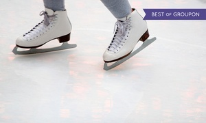 Floyd Hall Arena: Ice-Skating for Two, Four, or Six with Skate Rental at Floyd Hall Arena (Up to 46% Off)
