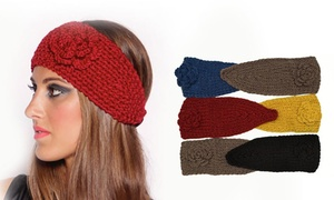 Soft Warm Fashion Knitted Women's Headband (6-Pack)