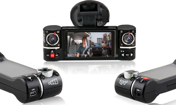 Apachie Ozone Dual Lens Dash Cam with Optional 16GB Micro SD Card from £49.99