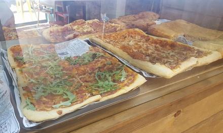 Menú para 2 o 4 con porciones de pizza, panzerotti o focaccia, cartucho de pasta y bebida desde 9,95€ en Marco & Broders