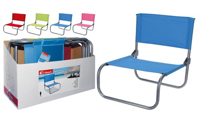 Folding Beach Chair Groupon Goods