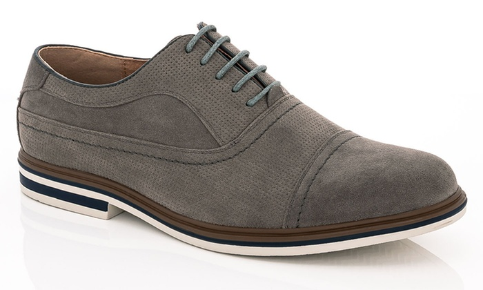 Franco Vanucci Dexter-1 Men's Casual Oxford Shoes (Size 9.5)