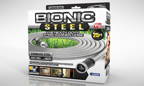 Bionic Steel Heavy Duty Stainless Steel Garden Hose — Multiple Sizes Available