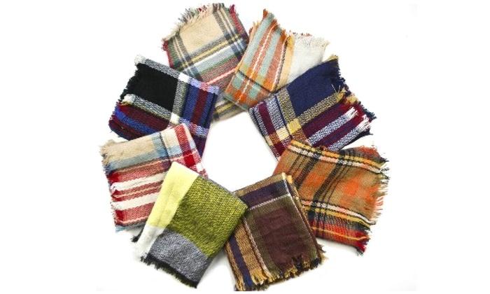 Women's Infinity Blanket Scarf