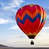 Heißluftballonfahrt mit Sekt