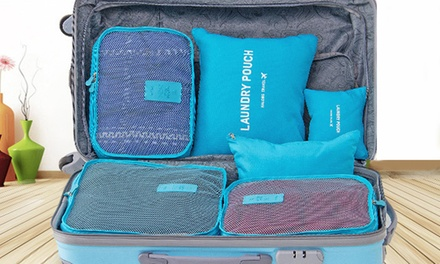 Six Piece Travel Luggage Organiser Set in Choice of Colour