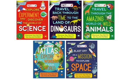 Discovery Factivity Book Bundle (5-Pack)