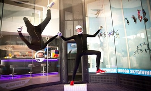 Airspace Indoor Skydiving BE: Pack découverte de simulateur de chute libre pour 1 personne à 59,99 € avec Airspace Indoor Skydiving