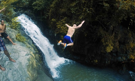 Bali: EightHour Jumping Water Sliding Tour for One Person with Transfers with Bali Sun Tours