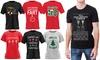 Kerst T-shirt met print