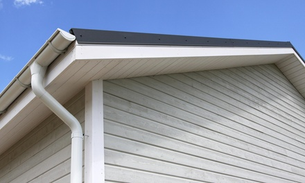 Up to 77% Off Gutter Cleaning and Inspection at T.R.U. Roofing and Construction
