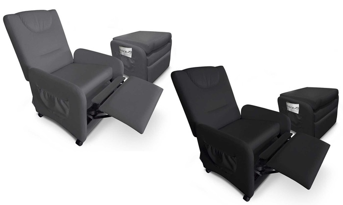 fauteuil relax pliable brio groupon shopping. Black Bedroom Furniture Sets. Home Design Ideas