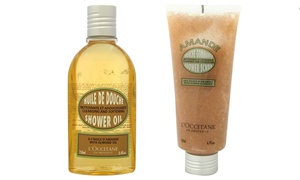 L'Occitane Almond Shower Oil and Shower Scrub at L'Occitane Almond Shower Oil and Shower Scrub, plus 9.0% Cash Back from Ebates.