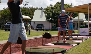 Illawarra Golf Complex: Driving Range: One ($8), Two ($15), Three ($21) or Four People ($26) at Illawarra Golf Complex (Up to $56 Value)