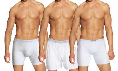 659e6089b3764a Shop Groupon Galaxy By Harvic Men's Tagless Boxer Briefs, Boxers, or Briefs  (3-Pk