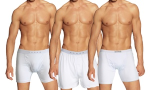 Galaxy By Harvic Men's Tagless Boxer Briefs, Boxers, or Briefs (3-Pk.)