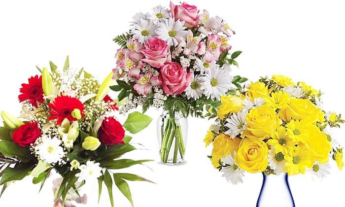 Premium bouquets groupon