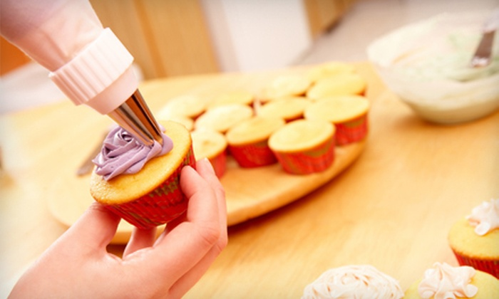 BakersVille - Streetsville: Two-Hour Cupcake-Baking Class for One or Two at BakersVille (Up to 63% Off)