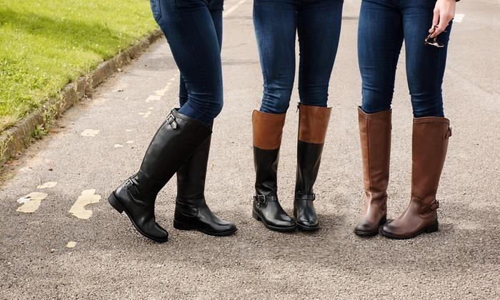 Stiefel im Reiterstil | Groupon Goods