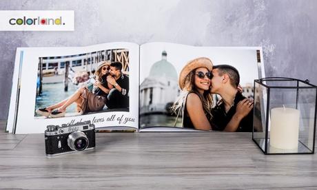 1 o 2 fotolibros clásicos en formato A3 de 28, 40, 60, 100 y 140 páginas con Colorland (hasta 83% de descuento)
