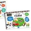 Craft Factory On the Farm and Dinosaur Adventure Kids' Stencil Books
