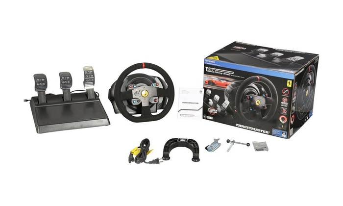 Thrustmaster T300 RS GT Edition Racing Wheel and Pedal Set for PlayStation  3, PlayStation 4, and PC