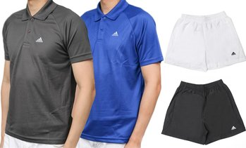 2-Pack of Adidas Polo or Shorts
