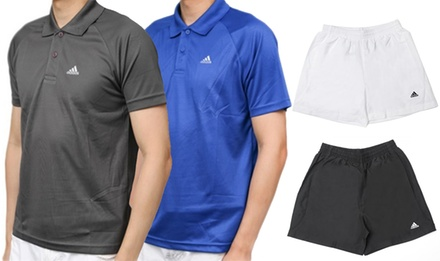 $49.95 for a Two-Pack of Adidas Men's Shorts or Polo T-Shirts