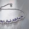 Gemstone Bolo Bracelet By L'Artiste