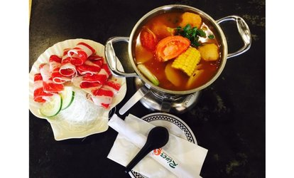 image for Fusion Hot Pot Cuisine for Two or Four or More Adults at Riverside Hot Pot Cuisine - Gaithersburg (41% Off)