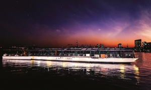 Bateaux Dubai: 5* Fine Dine Cruise with a Four-Course Meal and Drinks at Bateaux Dubai (Up to 46% Off)