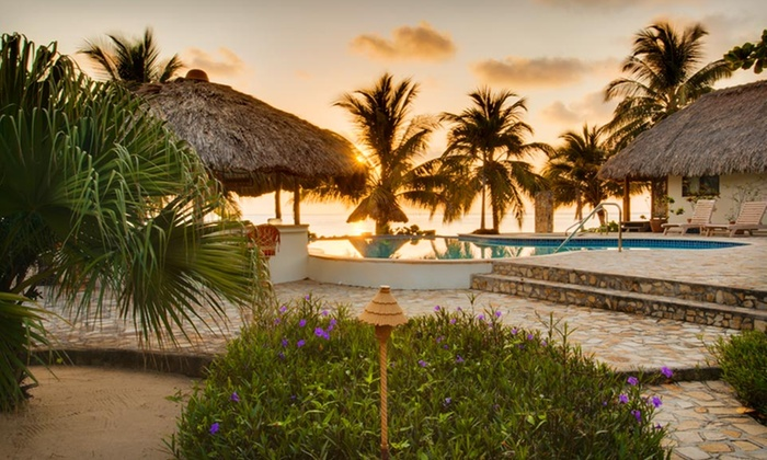 Almond Beach - Coastal Belize: Four- or Six-Night Stay at Almond Beach Resort in Belize, with Optional Trip to Rainforest Lodge