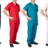 Men's Medical Scrub Set Top and Pants
