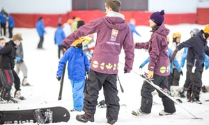 Chill Factore: Snowboard or Ski Taster Session for One,Two or Four at Chill Factore (Up to 58% Off)