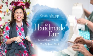 Brand Events TM Ltd: The Handmade Fair, 22 - 24 June, Bowood House, Wiltshire (Up to 39% Off)