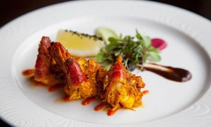 Bombay House Skerries: Two-Course Indian Meal for Two with Wine or Beer at Bombay House Skerries (Up to 49% Off)